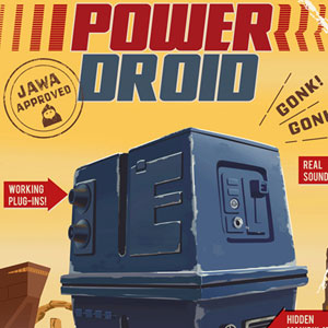 Power Droid by Steve Thomas | Star Wars