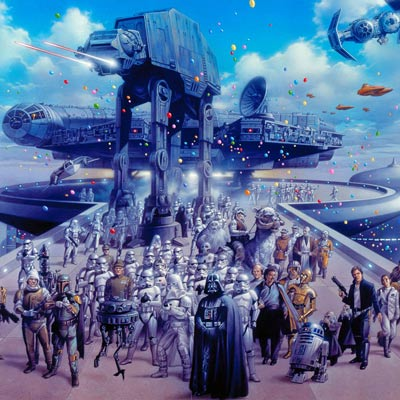 Cloud City Celebration by Tsuneo Sanda | Star Wars