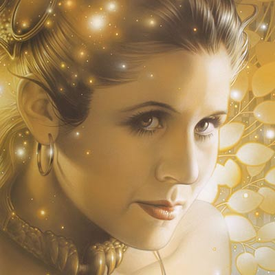 Lovely Leia by Tsuneo Sanda | Star Wars