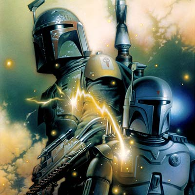 Boba Fett Evolution by Tsuneo Sanda | Star Wars