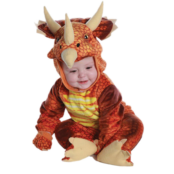Baby's Triceratops Toddler Silly Safari Costume