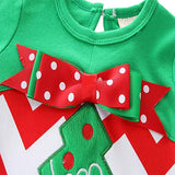 Baby Girls 2 Pieces Clothes Ruffle Leggings Outfit Christmas Costume