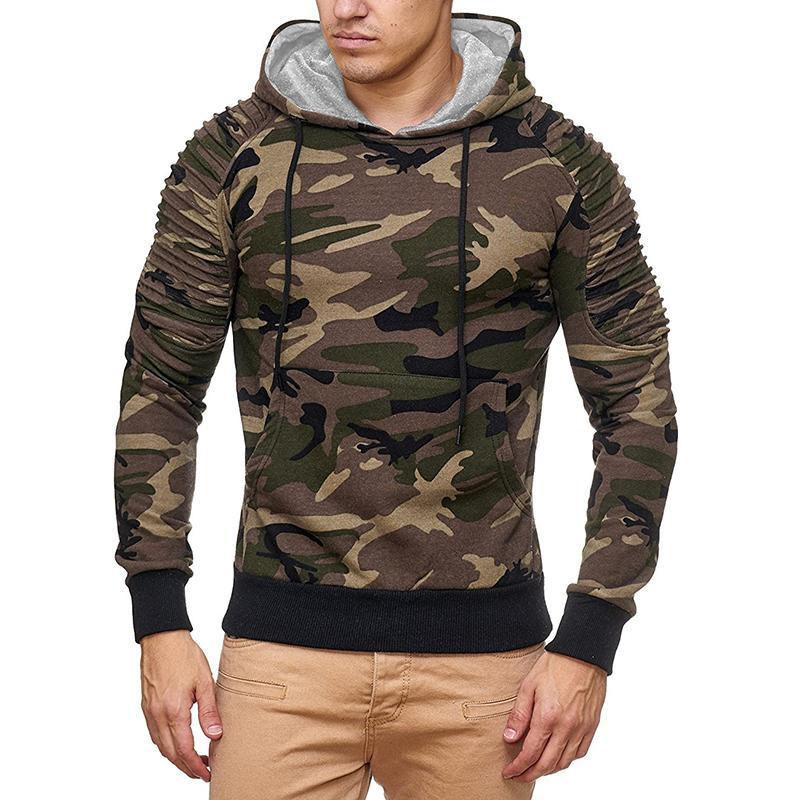 Fashion Long Sleeve Mens Hoodies