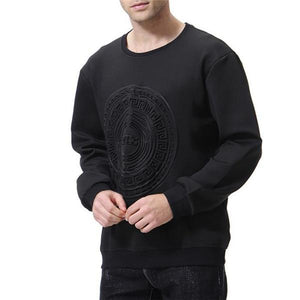 New Arrival Fashion Casual Youth Loose Solid Color Long Sleeve Men Sport Hoodie