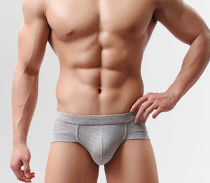 Mens Modal Breathable Low-Waisted Underpant
