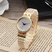 Load image into Gallery viewer, Fashion Woman's Watch Pearl Shell Dial Quartz Watches