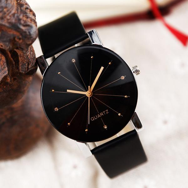 Splendid Watches Mens Women Luxury  Quartz Dial Clock Couple Watch