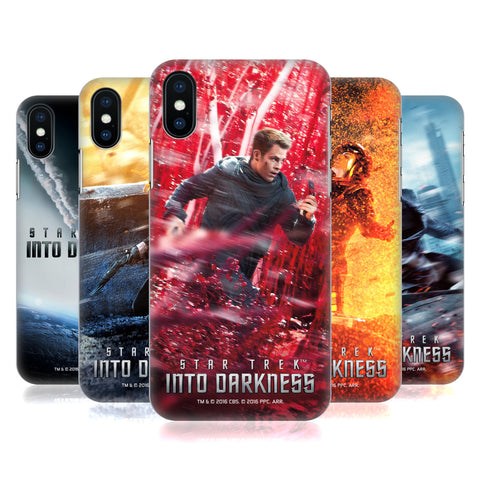 Official Star Trek Posters Into Darkness XII Hard Back Case for Apple iPhone XS Max