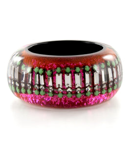 Nicholas King Neon Crystal Wrap Bangle