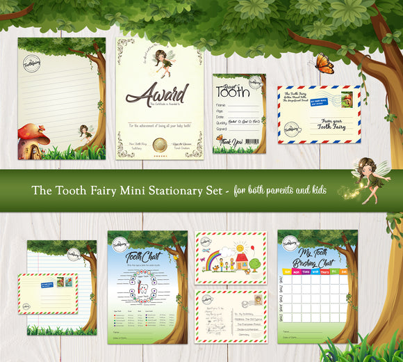 image relating to Tooth Fairy Stationary identified as Products and solutions MyToothFairy_IE