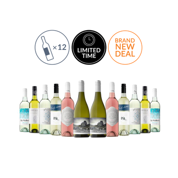 Premium Mixed White and Sweet Wine Carton Featuring Chapel Point Marlborough Chardonnay (12 bottles)