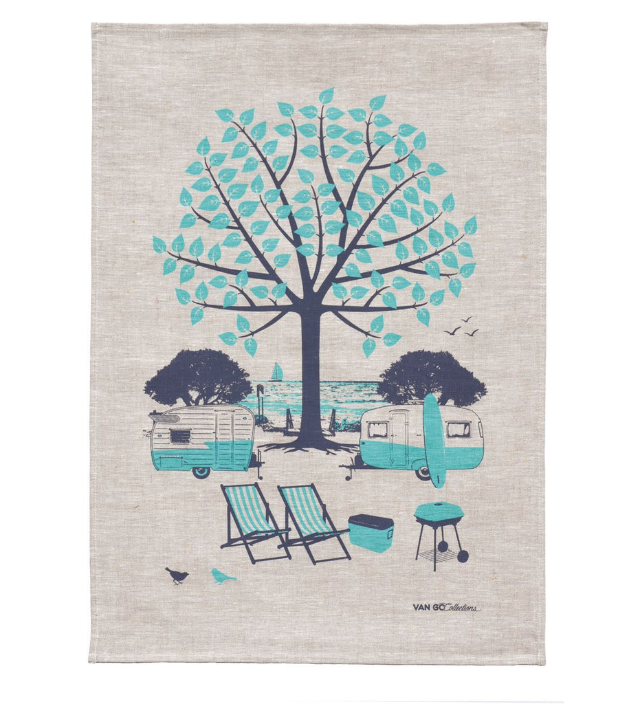 Seasonal Collection' Summer Tea Towel