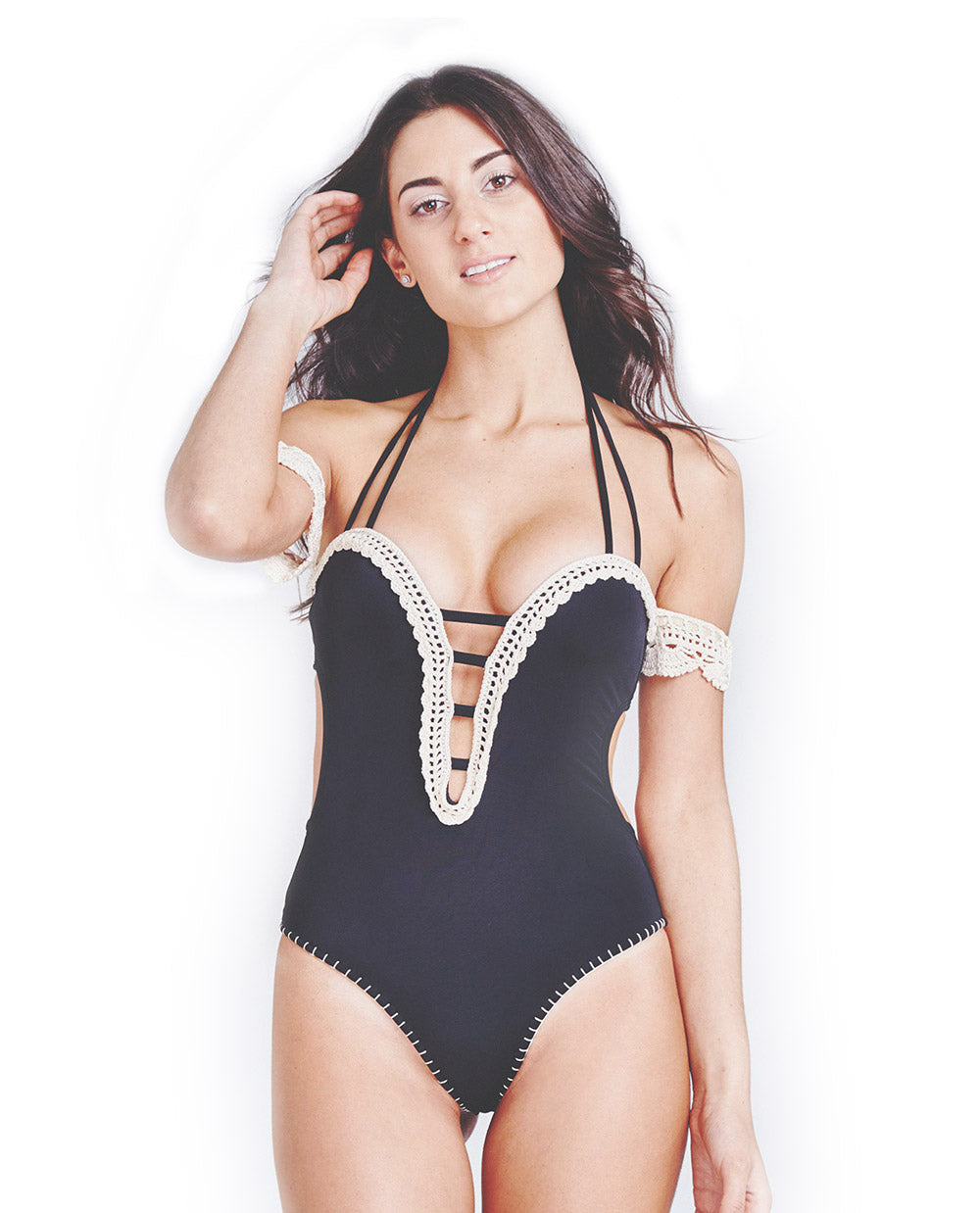 Maya Black One Piece