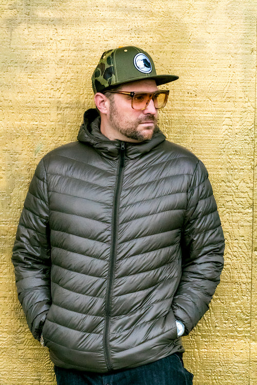 INDAMIX Ultra Light 90% Duck Down Unisex Bubble Jacket