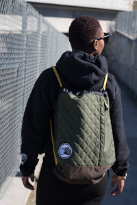 Sporty Quilted Sackpack