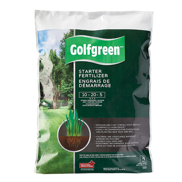GOLFGREEN® Starter Fertilizer, 10-20-5, 7-kg