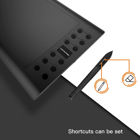 Professional Graphic Drawing Tablet pen features