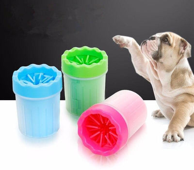 Portable Dog Paw Feet Cleaner Washer Cup