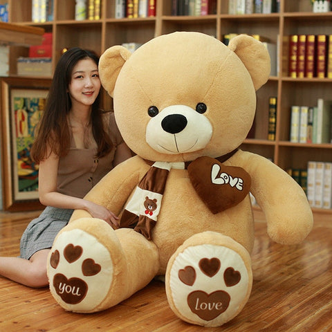 Huge High Quality Giant teddy bear size comparison