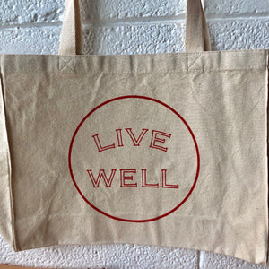 Live Well Tote