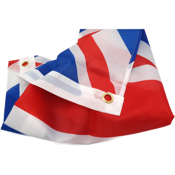 Union Jack Fabric Flag with Metal Eyelet 3ft x 2ft