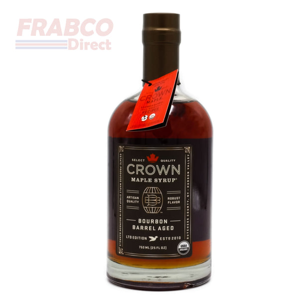 Crown Ltd Edition Bourbon Barrel Aged 750ml Artisan Maple Syrup