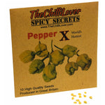 10 Hot Pepper Seeds World's Hottest (Pepper X)