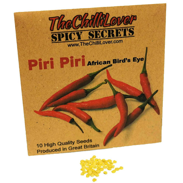 10 Hot Pepper Seeds Piri Piri