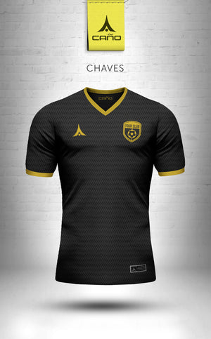 Chaves in black/gold