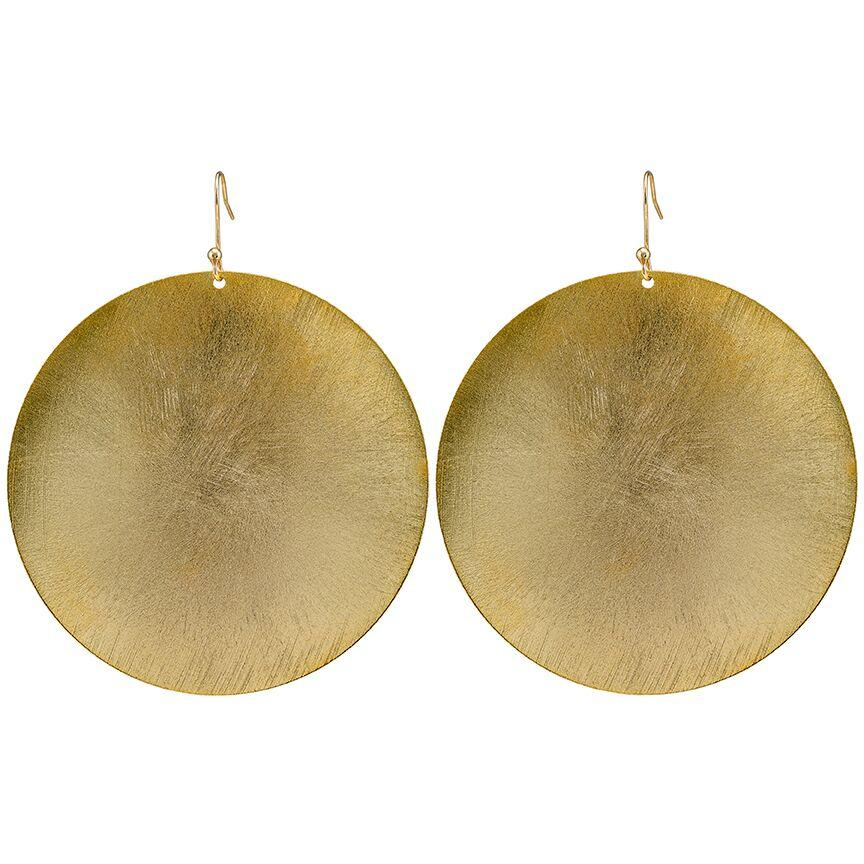 Extra Large Coin Earring