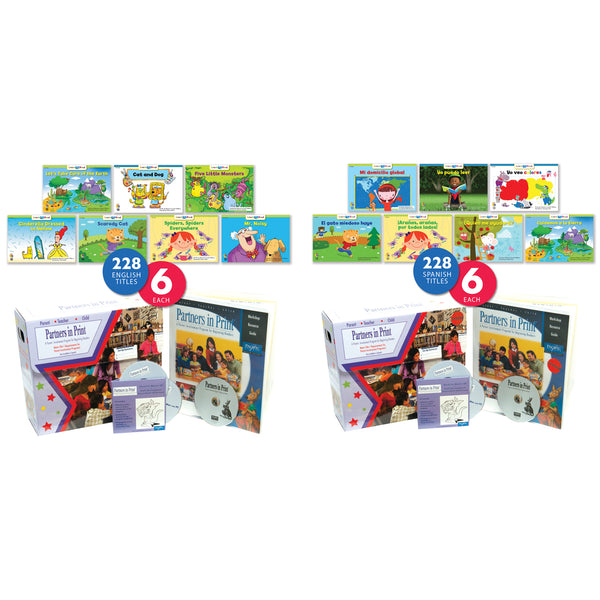 Partners in Print English/Spanish Combo Package: Primary