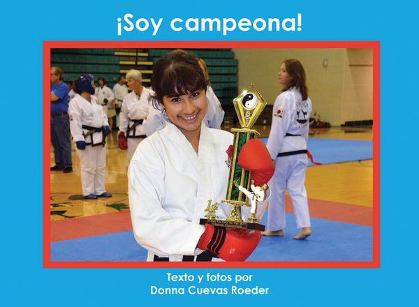 ¡Soy campeona!