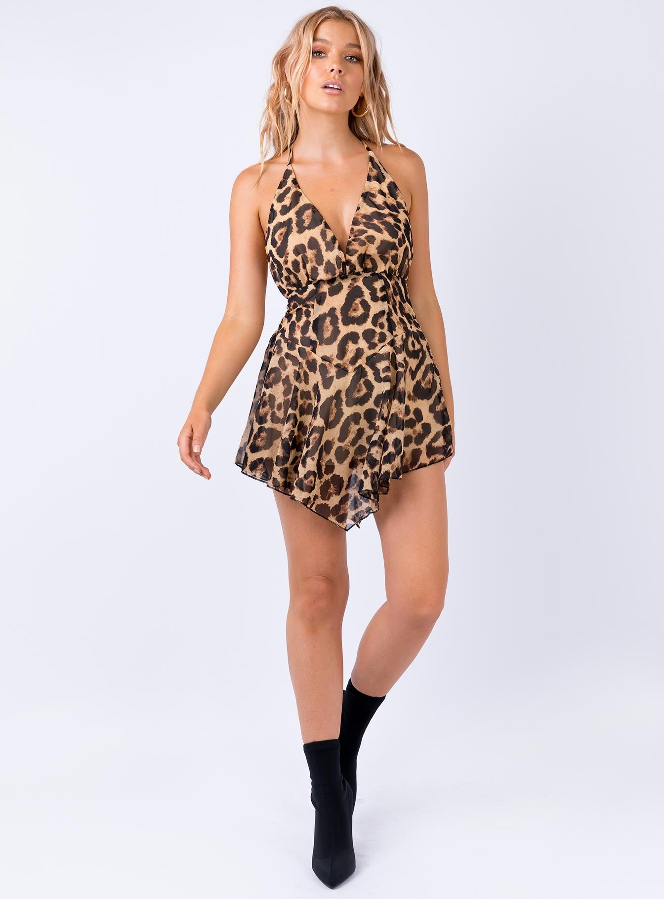 Sindy Playsuit Leopard