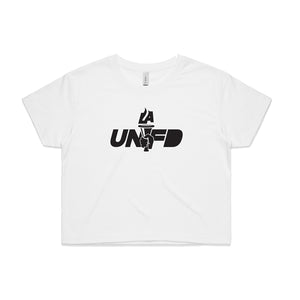 LAUNFD Pass The Torch Crop Tee