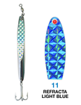 Deadly Dick Deadly Dick Long Casting / Jigging Lure - 11 - Refracta Light Blue
