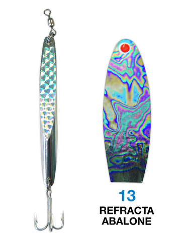 Deadly Dick Deadly Dick Long Casting / Jigging Lure - 13 - Refracta Abalone