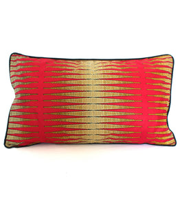 Coussin crayons de Madibo rouge