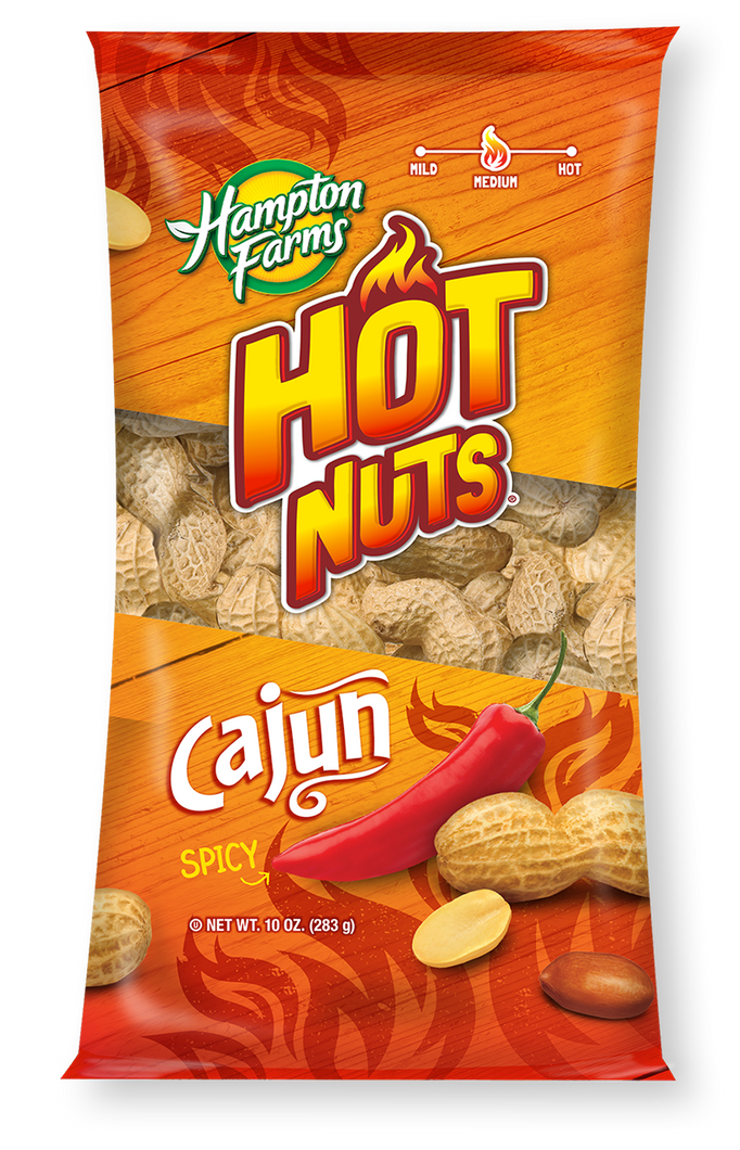 cajun hot nuts in shell