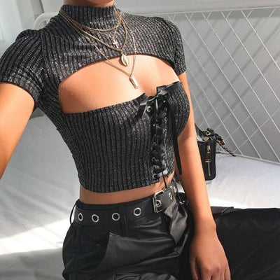 MESMERISED CROP TOP - Crop Tops