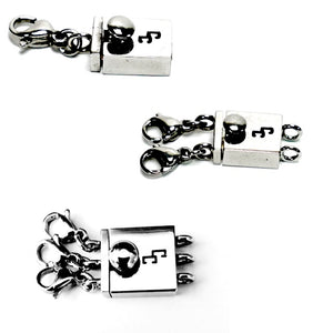 Hypoallergenic Stainless Steel Clasp