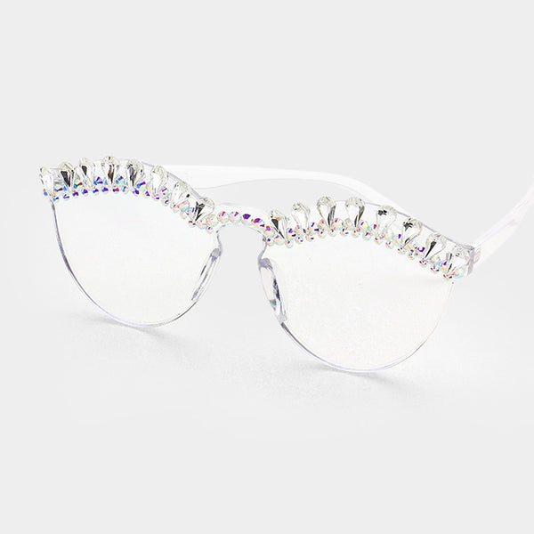 Crystal Winky Sunglasses