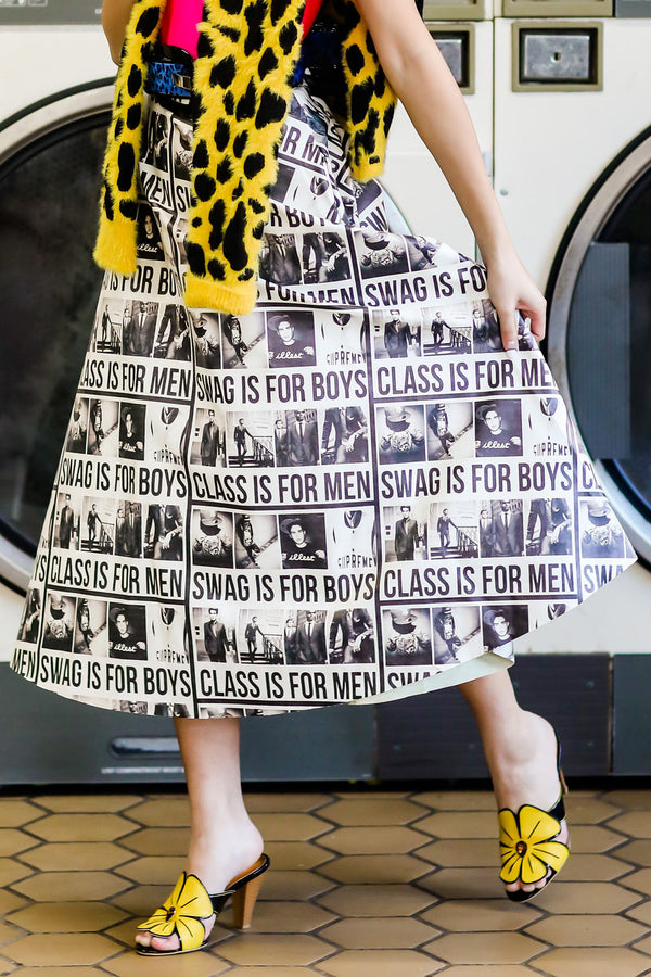 Swag is for Boys Skirt
