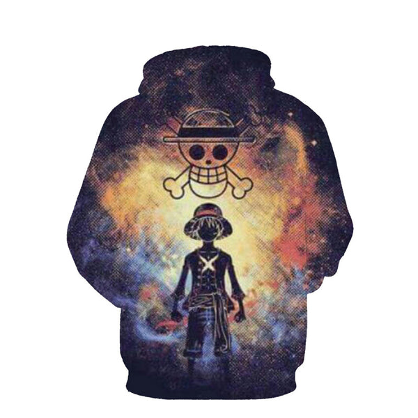 Luffy's Legend - One Piece Hoodie - Anime Printed