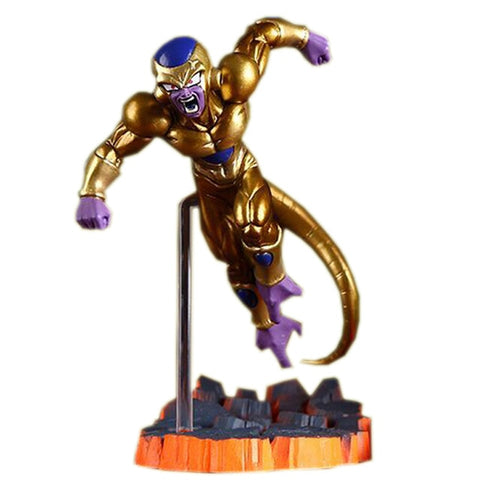 Golden Frieza - Dragon Ball Action Figure - Anime Printed