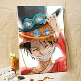 Luffy's Treasure - One Piece Canvas Printed Wall Poster - Anime Printed