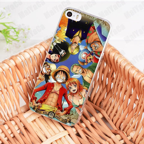 Strawhat Crew Huddle - One Piece iPhone Case - Anime Printed
