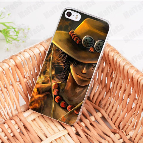 Ace The Fire God - One Piece iPhone Case - Anime Printed