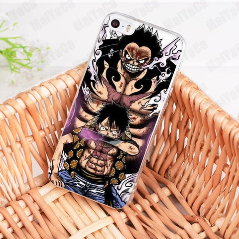 Luffy Gear 4th Bounce Man - One Piece iPhone Case - Anime Printed