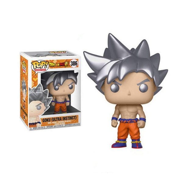 Chibi Goku Ultra Instinct - Dragon Ball Action Figure - Anime Printed