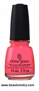China Glaze- Electric Nights- Red-y to Rave